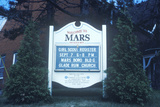 """A Sign That Reads """"Welcome to Mars"""""""