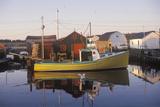 Sunrise on Fishing Village  Halifax  Nova Scotia  Canada