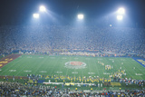 Evening at the Rose Bowl Game