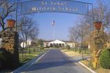 Entrance to St John's Military School  Salina  Kansas