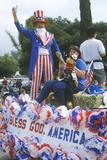Float in July 4th Parade  Ojai  California