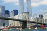The Class B Tall Ships Sailing from Wall Street  Manhattan to the Brooklyn Bridge  New York