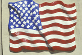 Sculpted American Flag  United States
