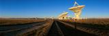 Radio Telescope Dishes at National Radio Astronomy Observatory in Socorro  NM