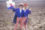 Teenagers Dressed as Uncle Sam  United States