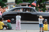 Classic Car in Independence Day Parade