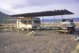 Trailer Dwellers in Death Valley  California