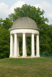 James Madison's Montpelier Mansion and Gazebo in Montpelier Station Va  Orange County