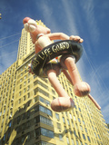 Pink Panther Balloon in Macy's Thanksgiving Day Parade  New York City  New York
