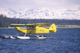 A Seaplane Called the Homer Split in Homer  Alaska
