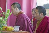 Tibetan Monks at Amitabha Empowerment Buddhist Ceremony  Meditation Mount in Ojai  CA