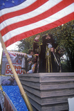 Christopher Columbus Float  Columbus Day Parade  New York City  New York