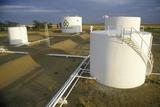 Diamond Shamrock Oil Tanks at Turpin  Ok
