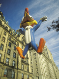 Woody Woodpecker Balloon in Macy's Thanksgiving Day Parade  New York City  New York