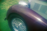 A Purple Bugatti at the 35th Annual Concours D' Elegance Competition in CArmel  CA