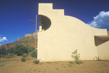 Holy Cross Catholic Chapel  Inspired by Frank L Wright in Sedona Arizona