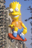 Bart Simpson Balloon in Macy's Thanksgiving Day Parade  New York City  New York