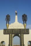 Entrance to Los Angeles Memorial Coliseum  Los Angeles  California