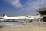 British Airways Supersonic Concorde Jet at Kennedy Airport  New York