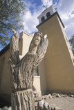 Old Catholic Mission Church in Cerillos New Mexico
