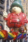 Cartoon Bear Balloon in Macy's Thanksgiving Day Parade  New York City  New York