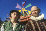 Two Actors at the Renaissance Faire  Agoura  California