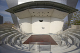 Outdoor Stage at Disney Concert Hall in Downtown Los Angeles  California