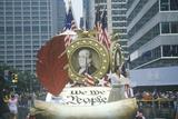 Float in American Bicentennial Parade  Philadelphia  Pennsylvania