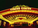 Circus Circus Entrance  Las Vegas  Nevada