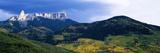 Cimarron Mountain Range in Uncompahgre National Forest  Ridgeway  Colorado