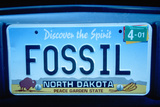 Vanity License Plate - North Dakota