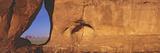Teardrop Window  Monument Valley  Sunset  Arizona