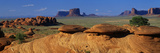 Swirling Sandstone Formations  Monument Valley  Arizona