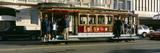 Cable Car  Nob Hill  San Francisco  California