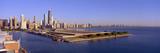 Chicago Skyline  Filtration Plant  Illinois