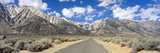 Road to Mount Whitney  Lone Pine  Sierras  California