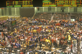 Trading Floor of the Chicago Board of Trade  Chicago  Illinois