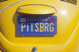 Vanity License Plate - California