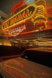 Neon Sign Outside of Donald Trump's Taj Mahal Casino in Atlantic City  NJ