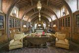 "Gothic Library of Hearst Castle  ""America's Castle "" San Simeon  Central California Coast"