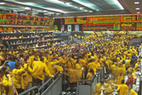 Trading Floor of the Chicago Mercantile Exchange  Chicago  Illinois