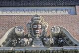 Architectural Detail of the Fogg Art Museum  Cambridge  Massachusetts