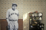 Room Inside Babe Ruth's Birthplace and the Baltimore Orioles Museum  Baltimore  Maryland