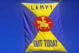 National Lampoon Flag  Harvard University  Cambridge  Massachusetts