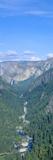 Yosemite Valley and Bridal Veil Falls  Yosemite  California