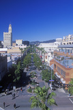 The Santa Monica Mall  3rd Street Promenade in Santa Monica  California
