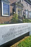 Fogg Art Museum  Cambridge  Massachusetts