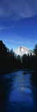 This Is the Half Dome with the Merced River Flowing in Front of It