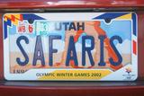 Vanity License Plate - Utah