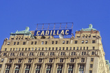 Cadillac Building in Downtown Detroit  MI